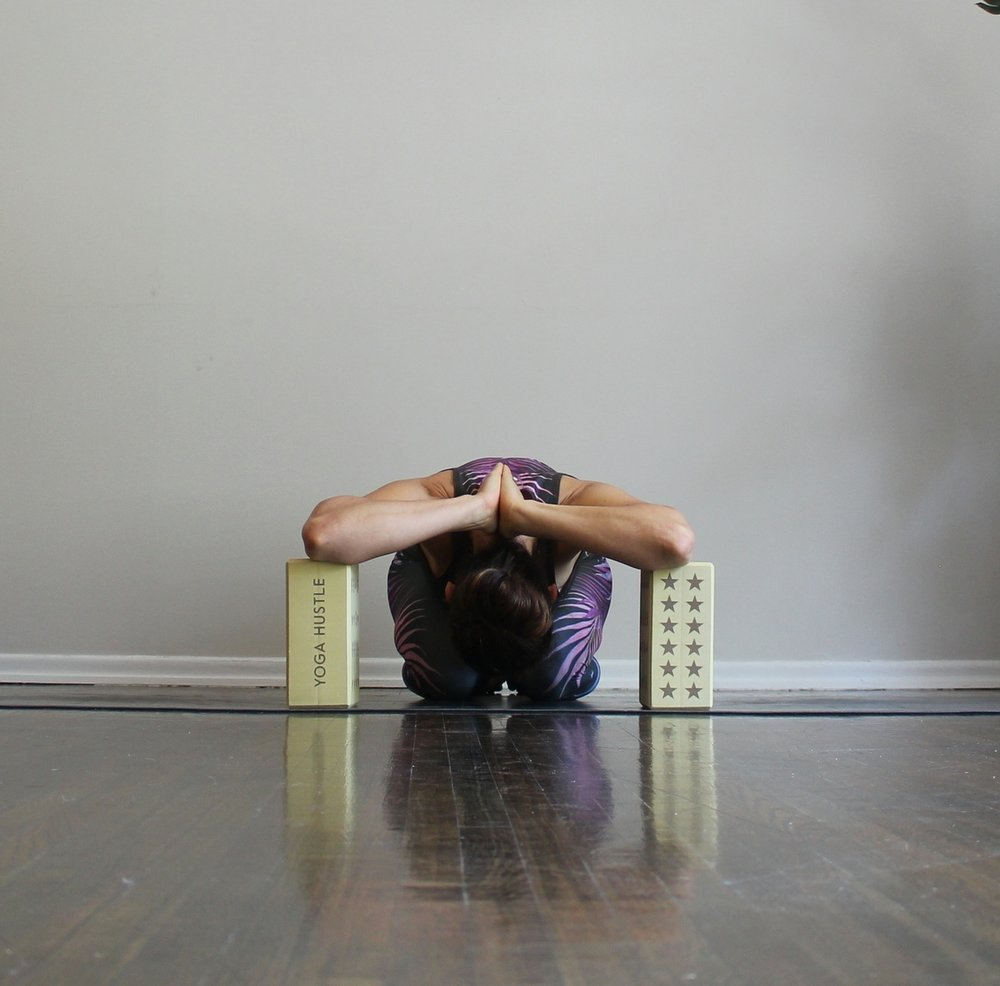 Shoulder Stretch with Blocks