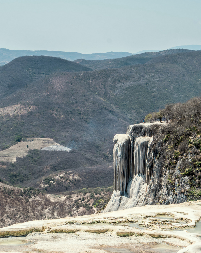 Petrified Waterfall at Hierve El Agua