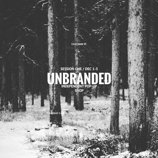 UNBRANDED 2016  Was a great experience, thanks to everyone that came by!!