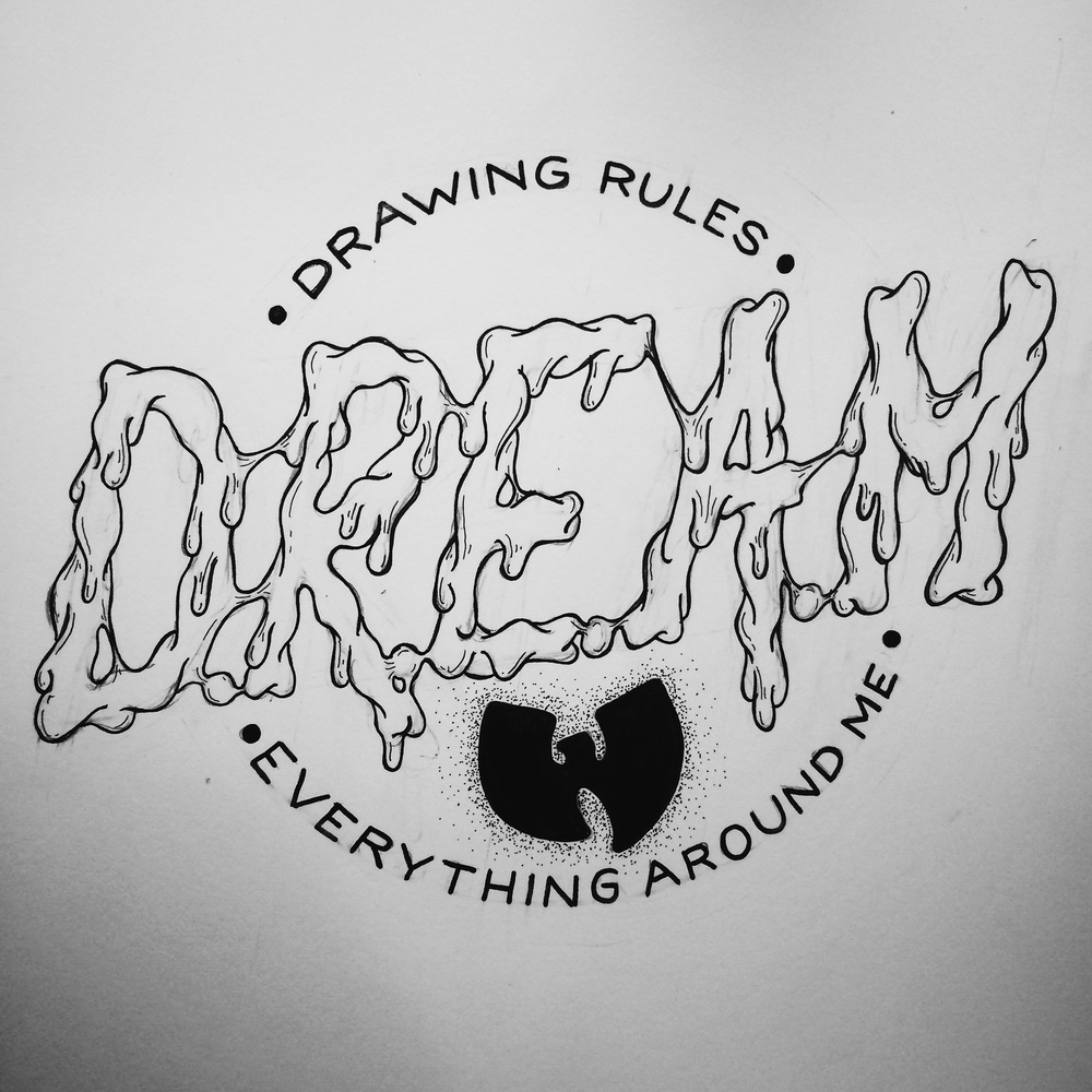 It started with a popular acronym I decided to make my own, but since I don't have much cash, I went with the next thing I've got plenty of: love for drawing and plenty o' dreams.