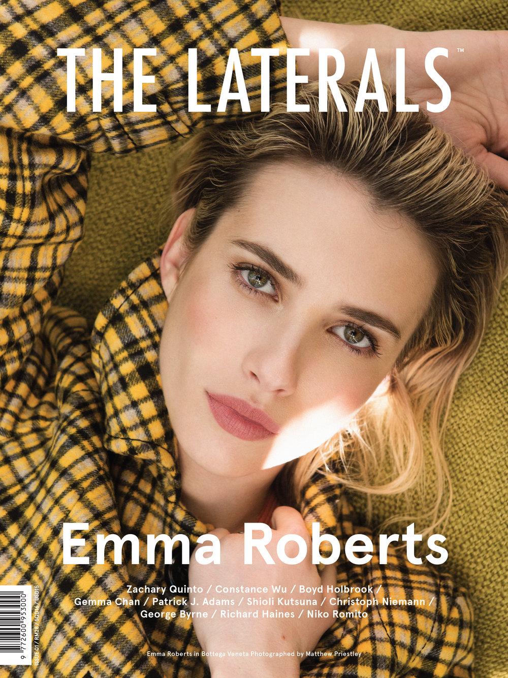 The Laterals Magazine  / Emma Roberts