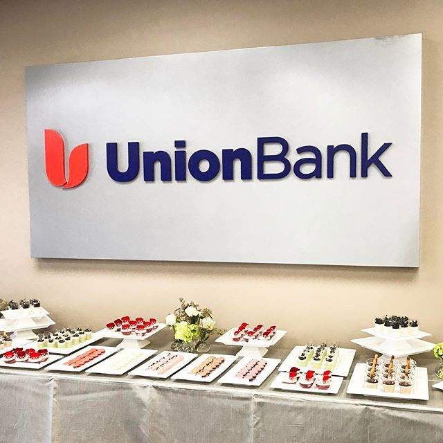 Round 2!  Another Dessert Table for The Private Bank at Union Bank!  #privatebankevent #corporatedesserttable #verrinessucrées #gourmetmacarons