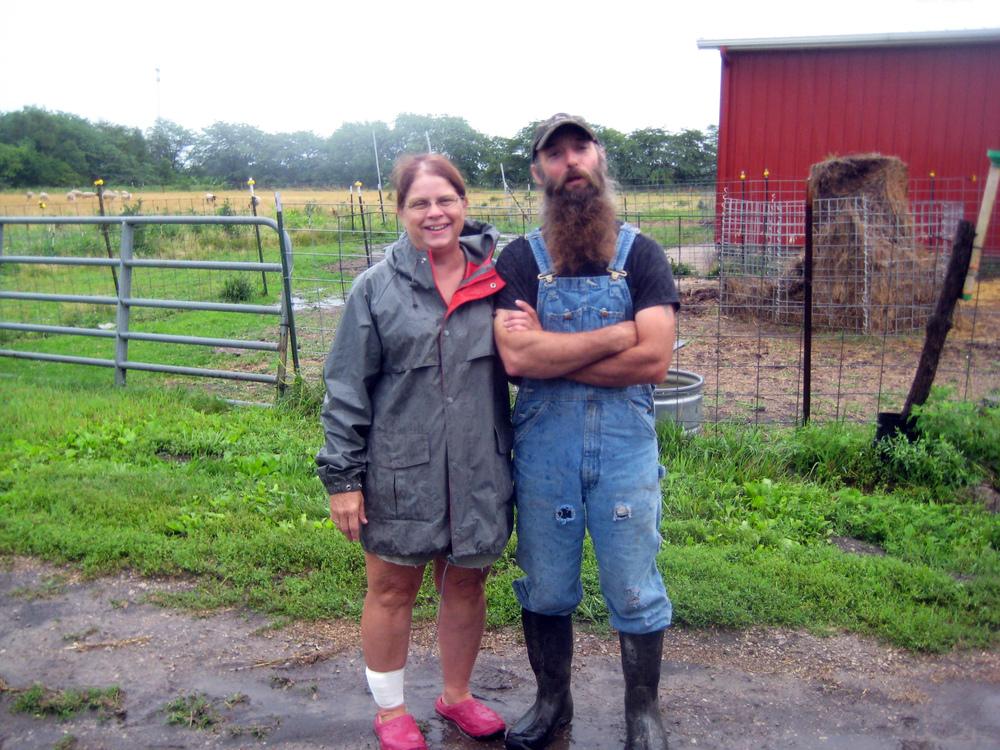 Trent & Jackie Sparrow, Catalpa Grove Farm www.catalpagrovefarm.com