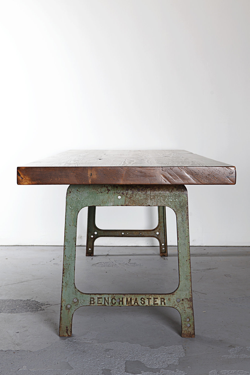 Custom Reclaimed Fir Dining Table  N