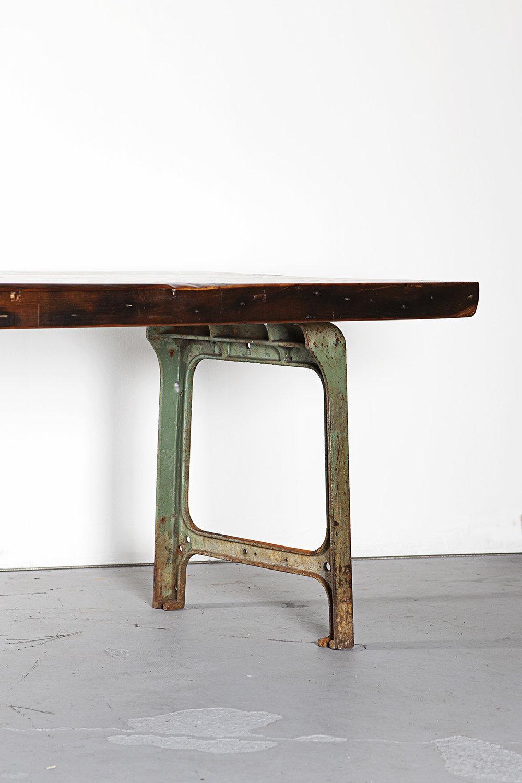 Custom Reclaimed Fir Dining Table