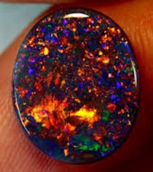 Black Opals are   one of the most expensive stones out there. Top quality specimens can fetch over $2k per carat.
