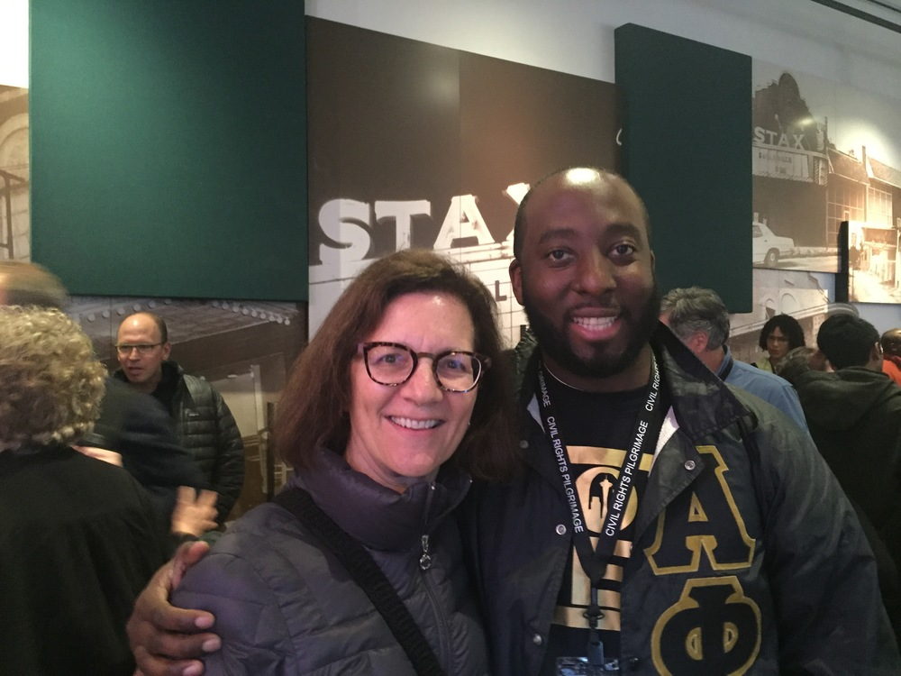 Susan McGrath and Sly Cann at Stax Museum