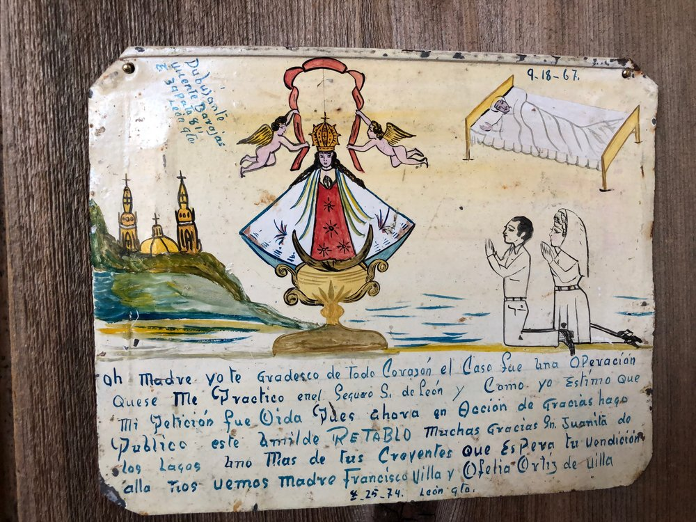 A Retablos collected by Octavio Solis