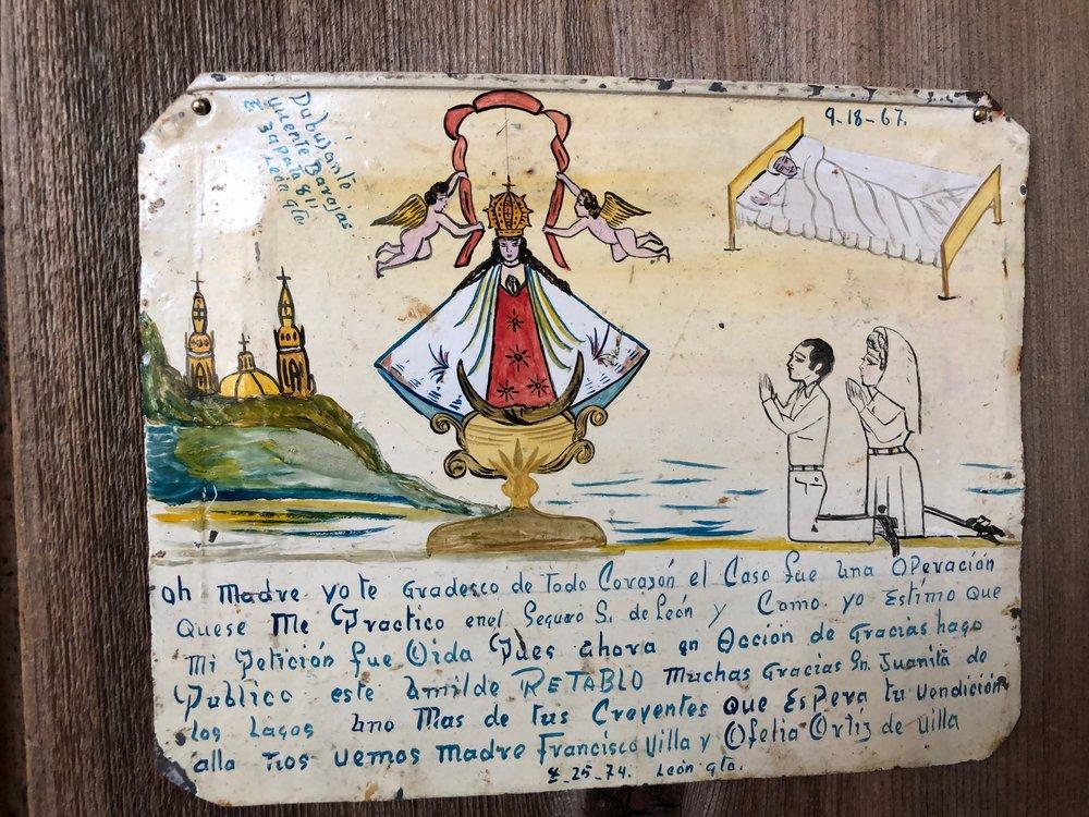 A Retablos collected by Octavio Solis