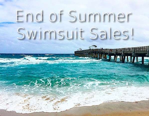 End of Summer Swimsuit Sales