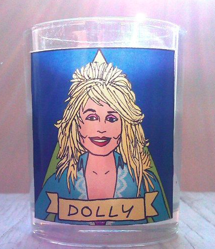 Dolly Parton Candle