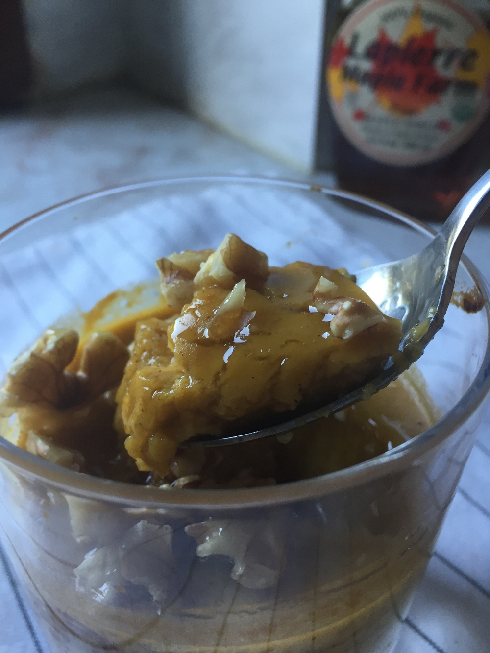 Maple Pumpkin Custard