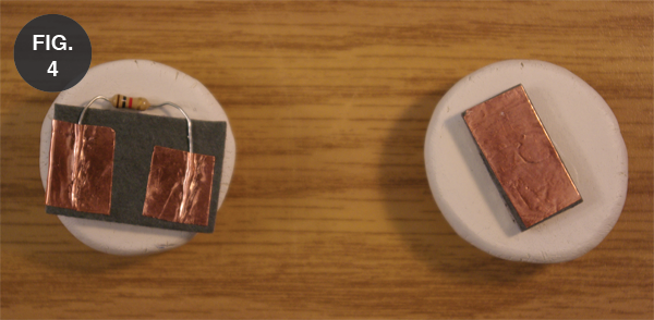 Physical part on the right is what's been done. Physical part on the left is the piece with varying resistance.