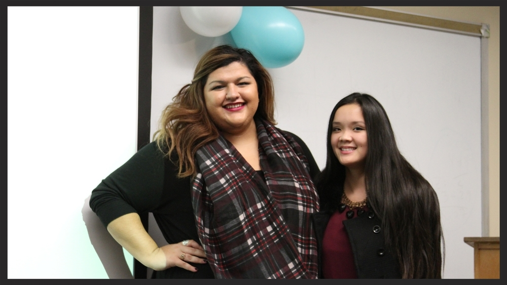 Emily Henson & Monique Uong-Tran, Outstanding Members for Fall 2014