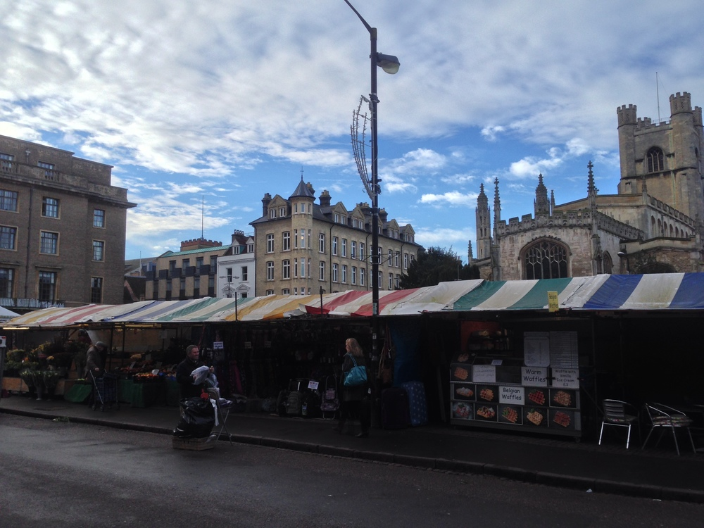 The Market Square - Cambridge, UK