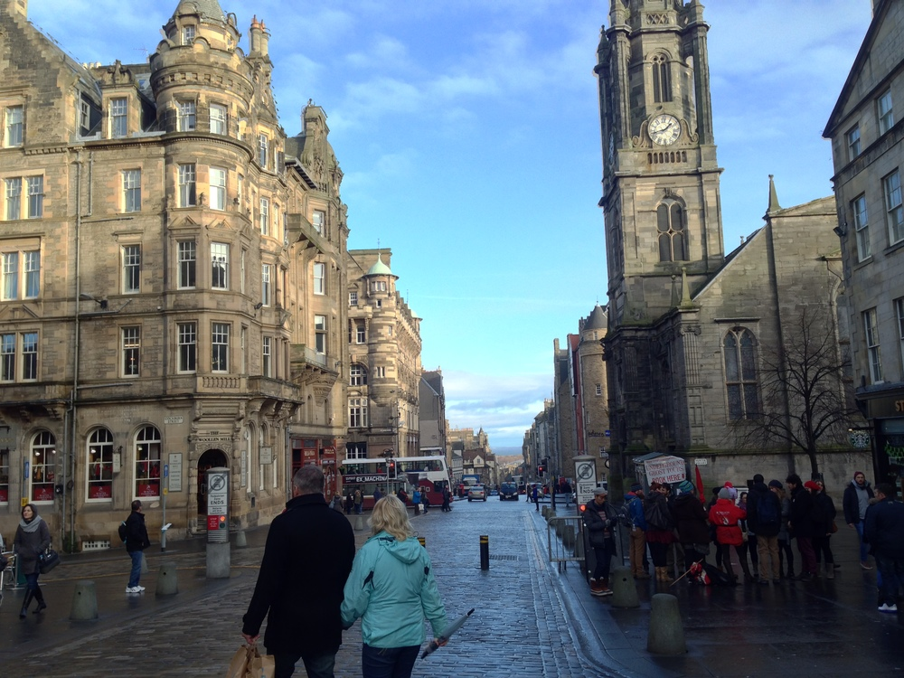 The Royal Mile - Edinburgh, Scotland