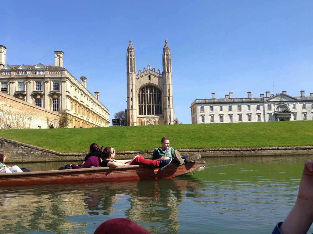 Punting - King's Chapel
