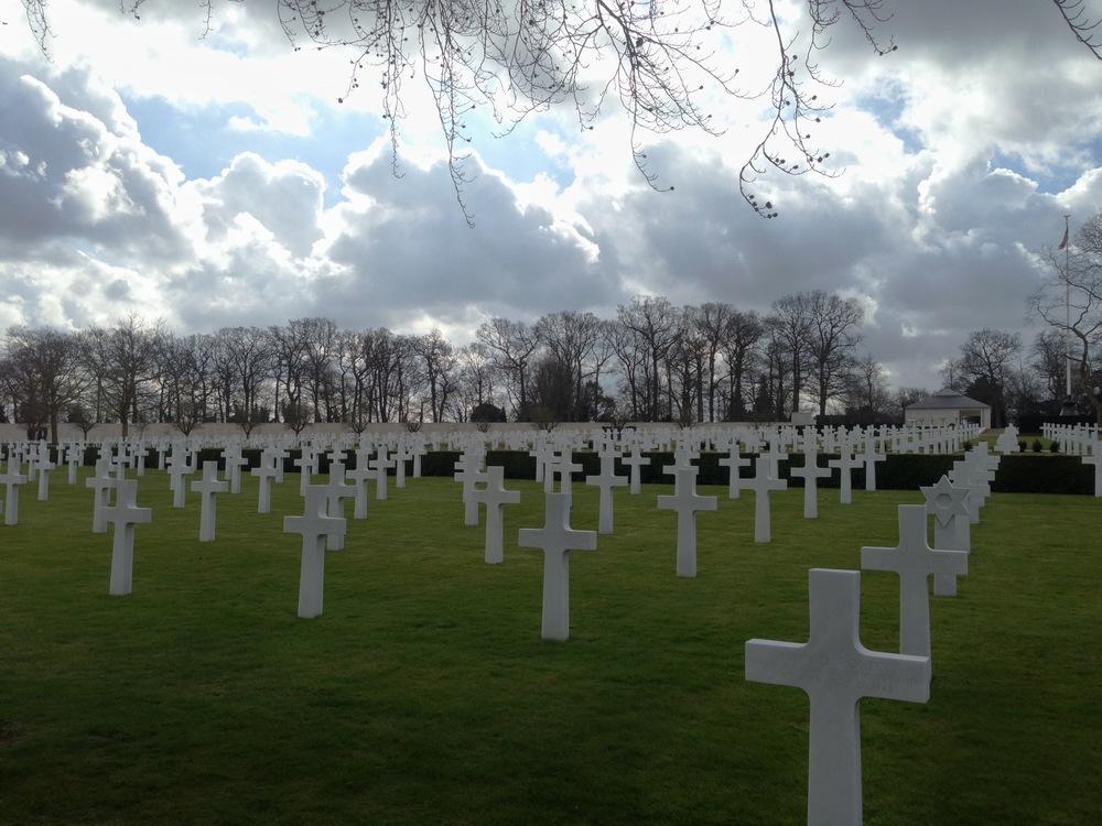American Cemetery - Cambridge, England