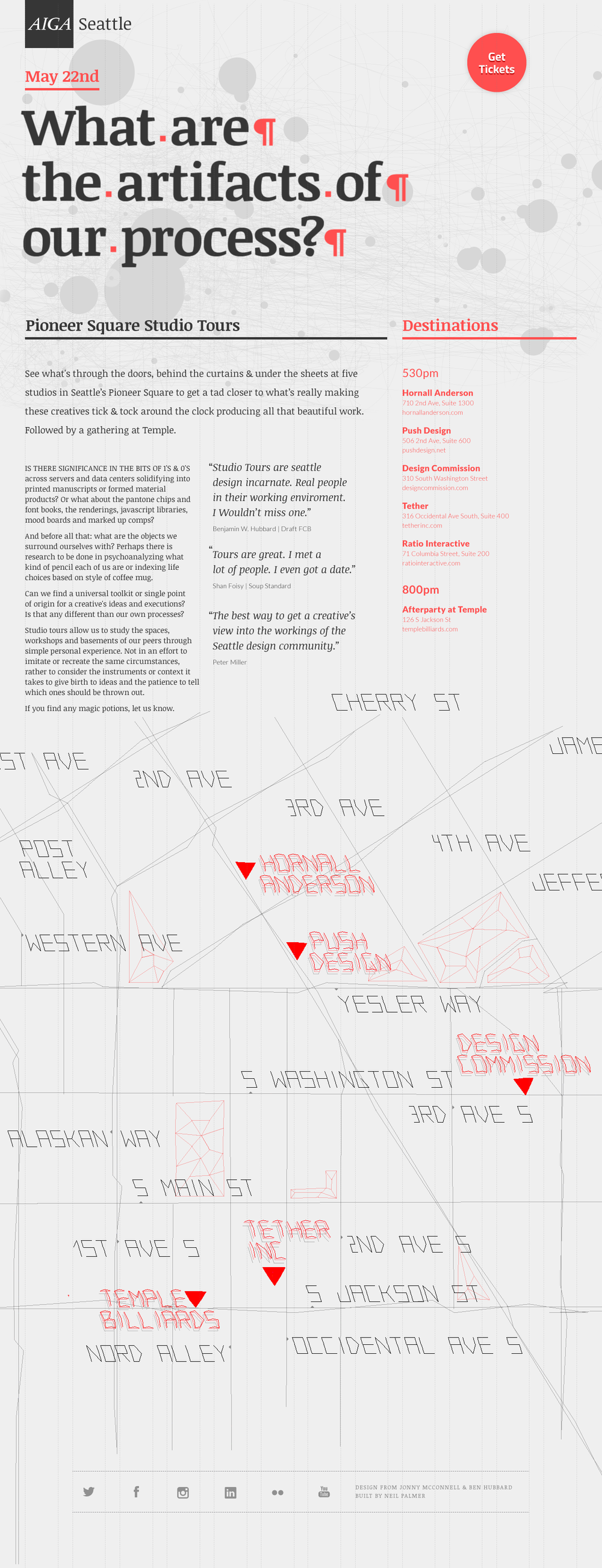 Collaboration with  Ben Hubbard  to build off the original site using mouse tracking and  Normal Future 's type generator.