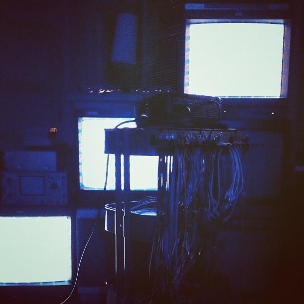 Nick's TV rig.