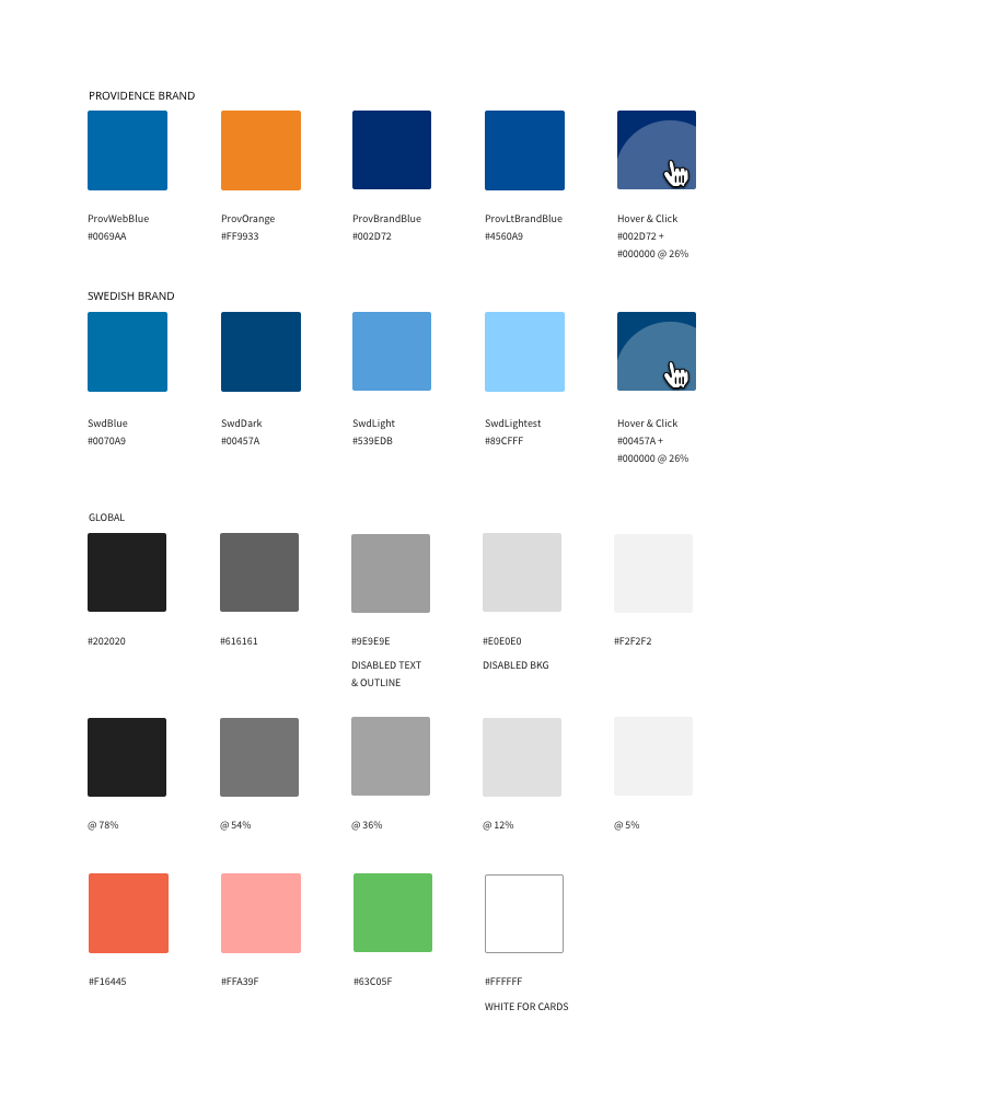 Leveraged Material's mentality for simple theming variations.