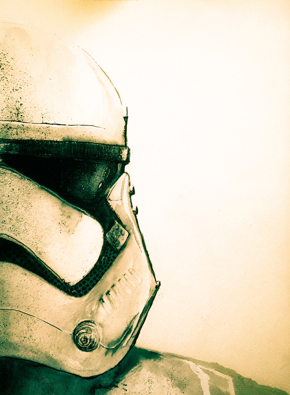 12.15.2015 Everyday Number 76 Stormtrooper Redux