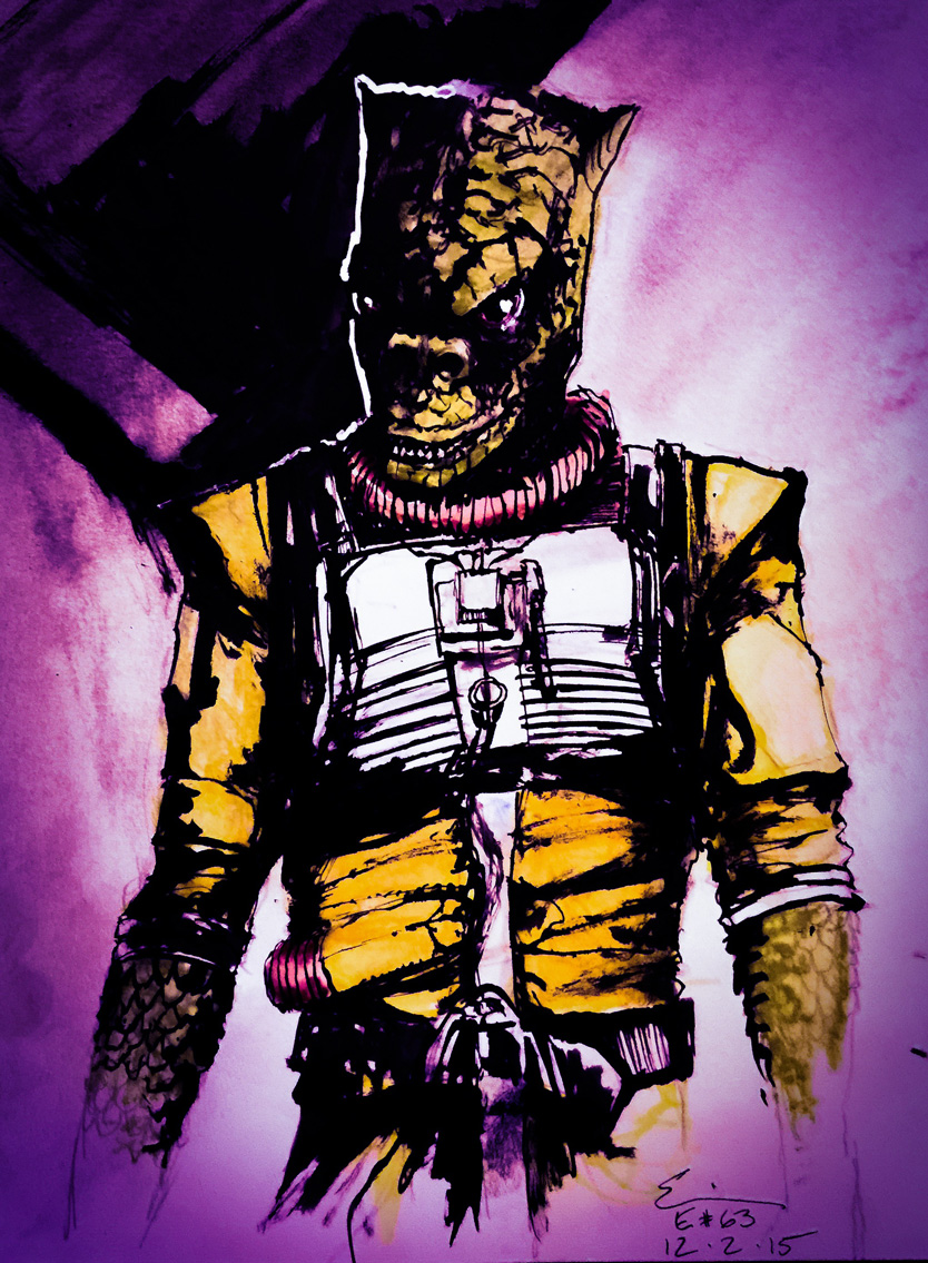 12.02.2015 Everyday Number 63 (Like a) Bossk