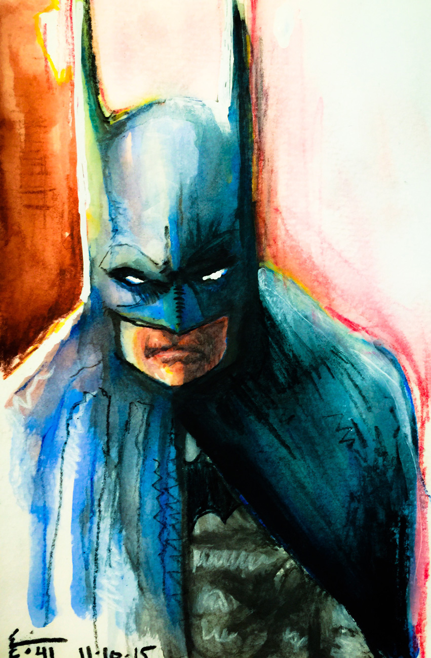 11.10.2015 Everyday Number 41 When In Doubt, Do Batman
