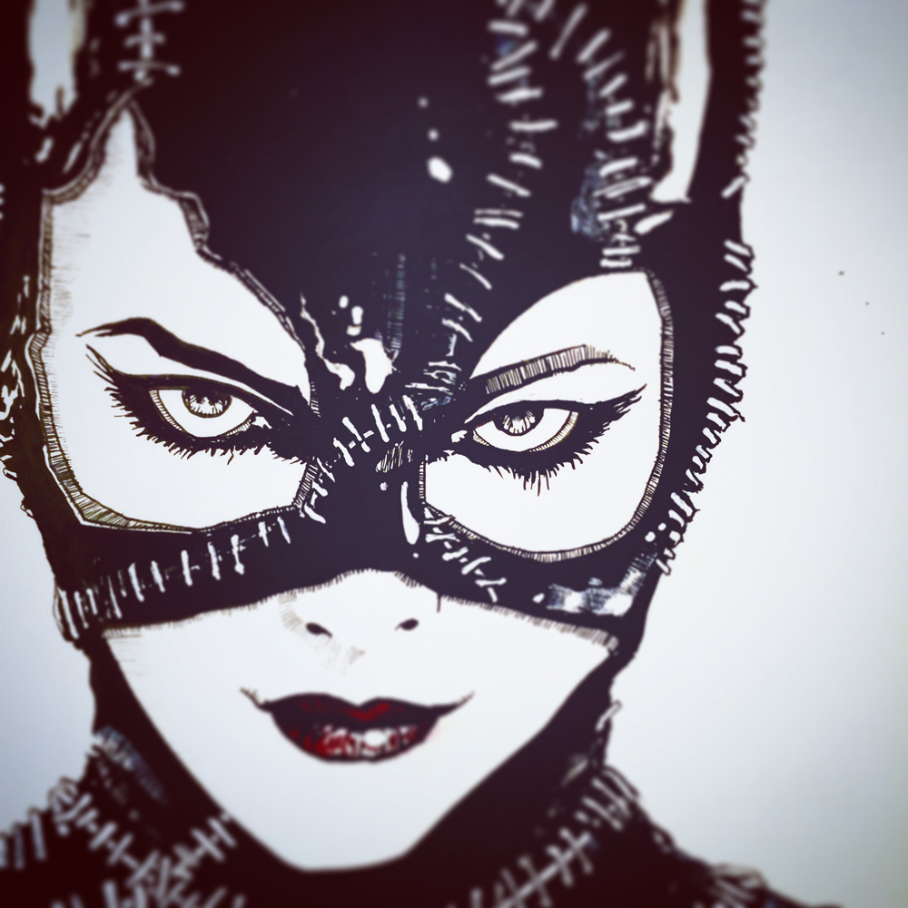 10.25.2015 Everyday Number 25 Selina Kyle