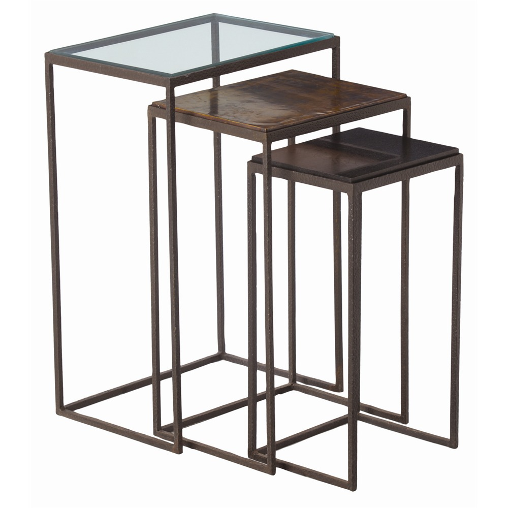 Knight Nesting Tables Set of 3  sc 1 st  ARCHI-ARTS : nesting table set - pezcame.com