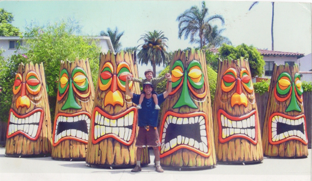 Tikis for Disney on Ice by Matthew McAvene with son Ben Catch McAvene.jpeg
