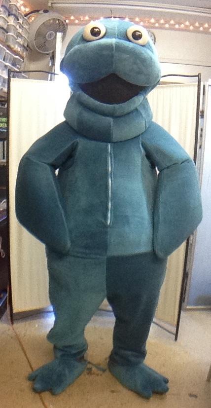 Manatee Mascot Character Costume by Matthew McAvene.JPG