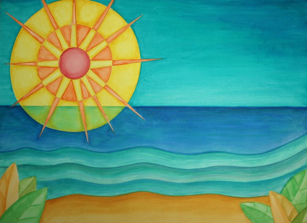 36%22 x 48%22 Painting by Acrylic Matthew McAvene.jpg