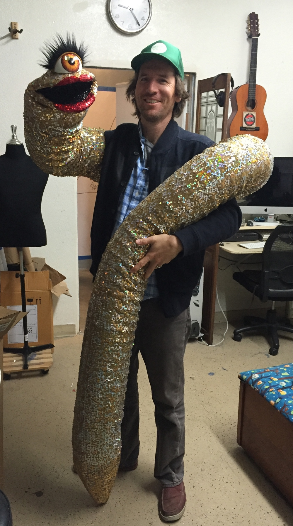 Camilla The Magic 12' Worm Puppet by Matthew McAvene with Zach Gill.jpg