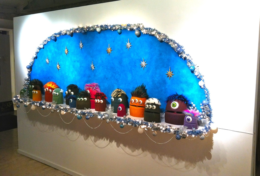 Holiday Puppets for a Gallery Window Display by Matthew McAvene Creations.JPG