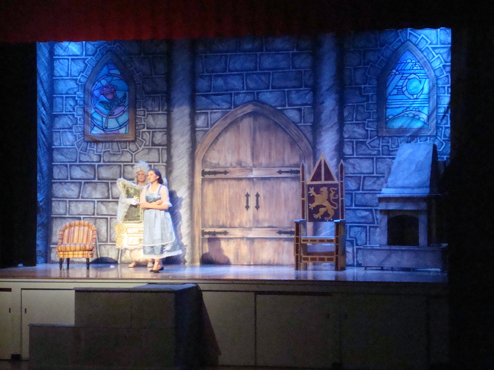 20' x 40' Castle Backdrop for Beaty & the Beast by Matthew McAvene