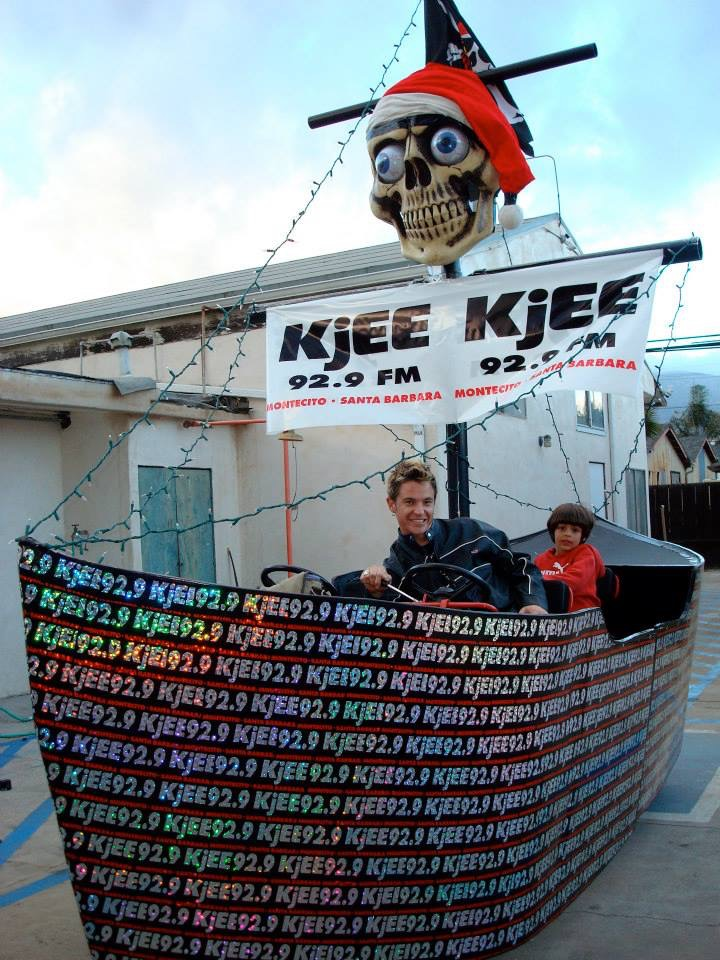 Pirate Parade Float by Matthew McAvene (1st Place Award Winner)