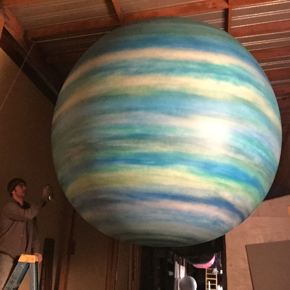 10' Planet Uranus by Matthew McAvene