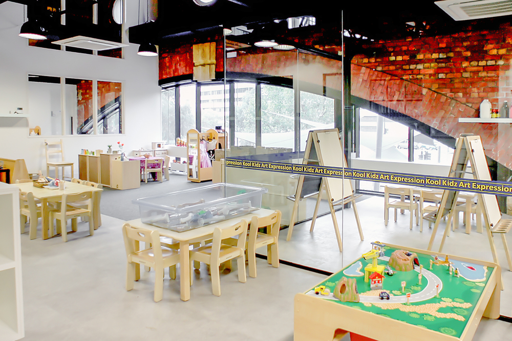 Kool Kidz Docklands needed to meet childcare regulations as well as adhere to heritage overlays. A complex balancing act whilst still focused on ROI.