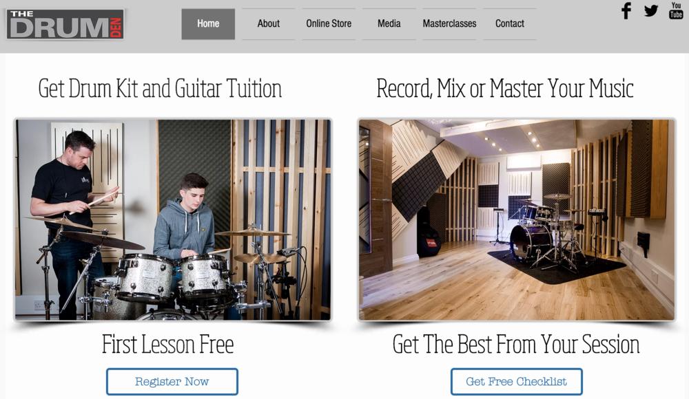 Drum Den Studio