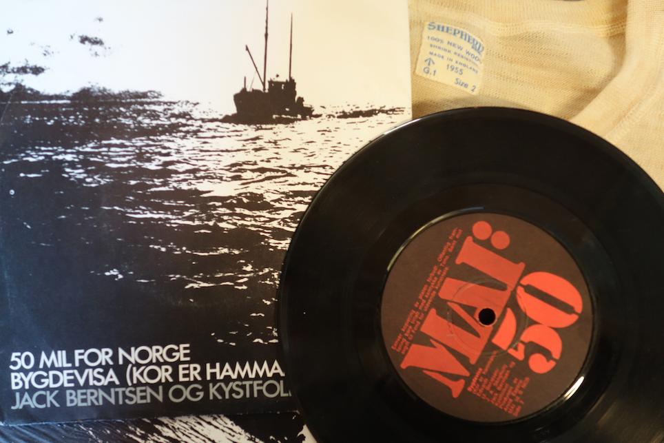 KLASSIKER: En klassiker i norsk visearv, men ikke i original tapning etter at vinylplata fra 1974 var utsolgt. Men nå kan det ordne seg. (Foto: Trolltamp.com).
