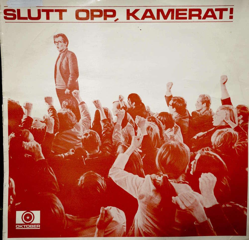 """RØDT: Tittelen på albumet var """"Slutt opp, kamerat!"""" og sangene ble fremfort av Front-Teateret og Visegruppa PS. (Foto/Arkiv: Trolltamp.com)"""