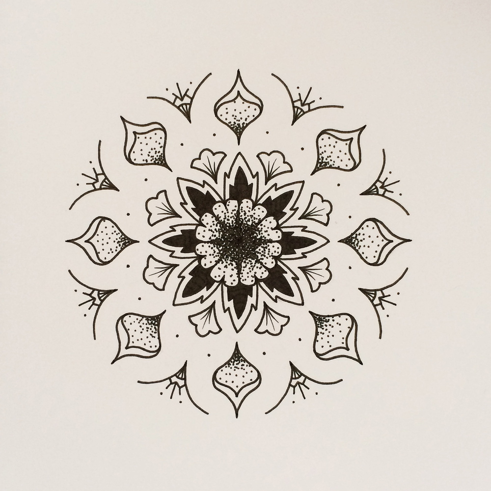 MANDALA MORE // 005 — GROSS MOTIF