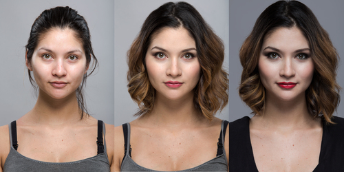 Makeup yourself five tips to take your makeup to the next level before and after photos of dina comparable lighting was used in all photos to faithfully solutioingenieria Image collections