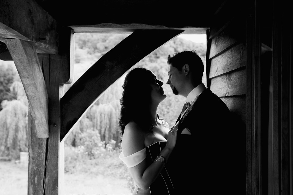 Hannah and Rob - The lost village of Dode, Kent, Beautiful old gutted out church, walking through straw, with a hand fasting ceremony afterwards - read the whole story here