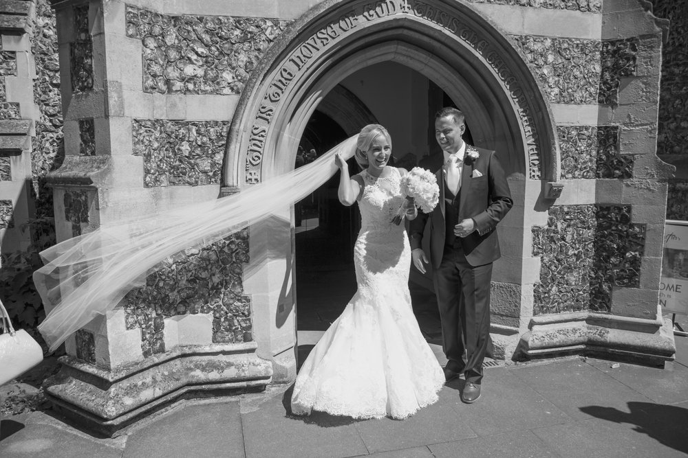 Amy and Tom - Q Vardis A beautiful sung speech from the Bride's father, hilarious props and lots of fun with family and friends - read the whole story here