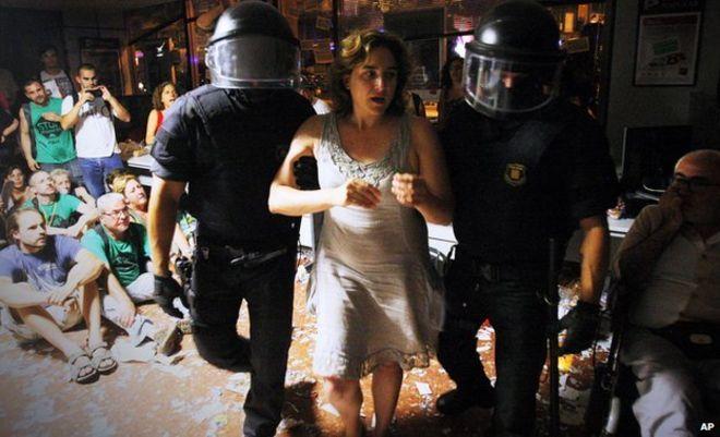 Ada Colau - Barcelona-aktivist og ordførerkandidat.