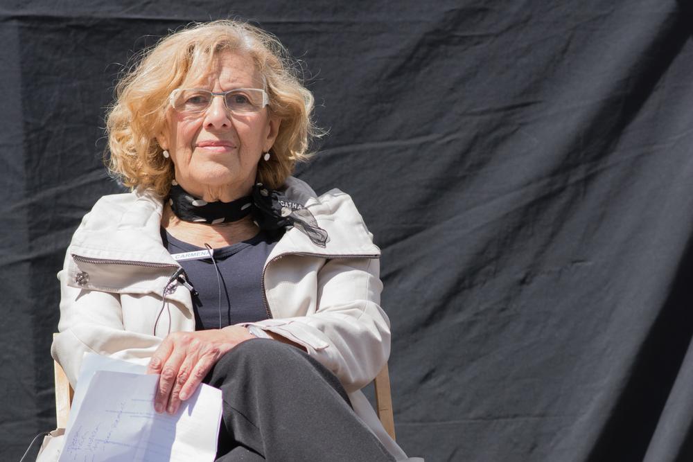 Manuela Carmena - dommer, korrupsjonsjeger og kanskje Madrids neste ordfører.