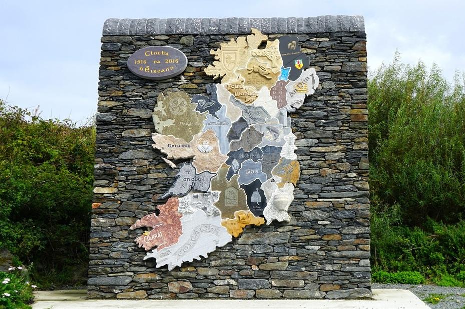 15ft Map of Ireland