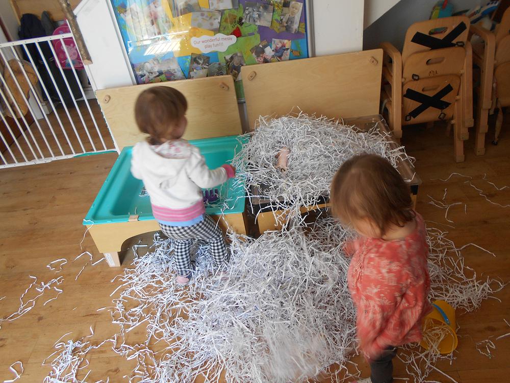 Paper Fun in the Warren